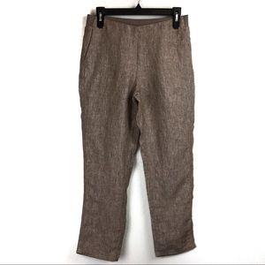 J. Jill Love Linen Cropped Pants